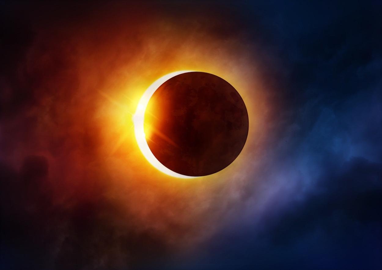 Солнечное затмение – что это, как происходит, когда будет, виды, фото и видео  - «как и почему»