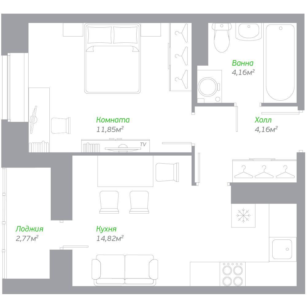 Европланировка двухкомнатной квартиры (45 фото): что такое евродвушка? варианты планировки метража 32, 39, 45 кв. м