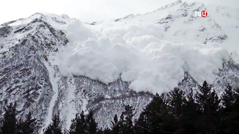 Снежная лавина