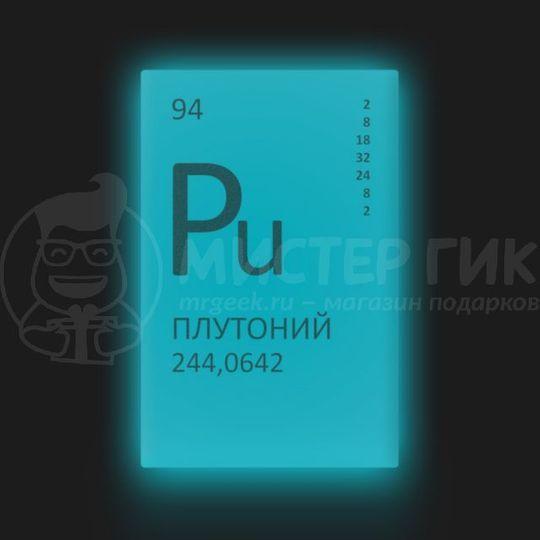 Плутония