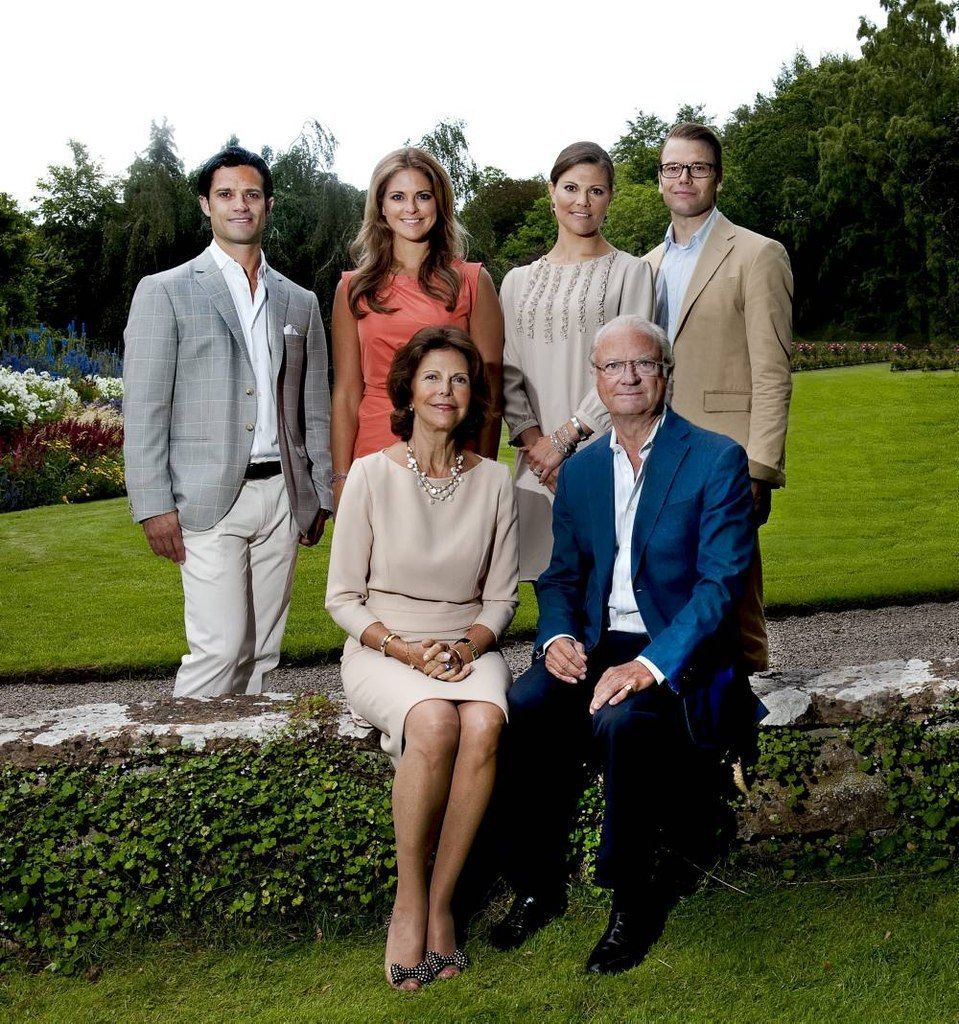 Очень шведская семья