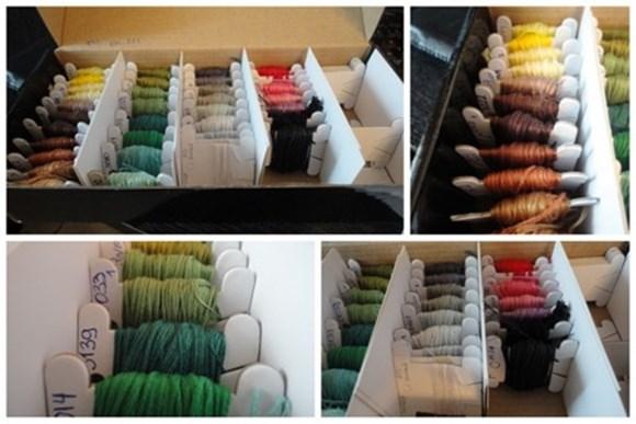 Вышивание нитками: швы и стежки