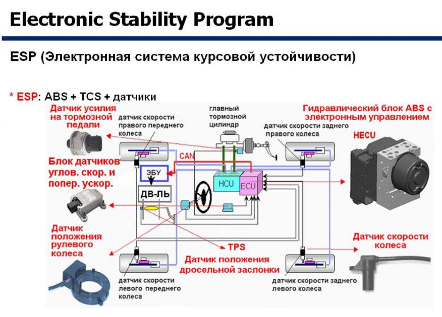 Esp: что это такое в машине, как работает, и нужна ли система есп в автомобиле