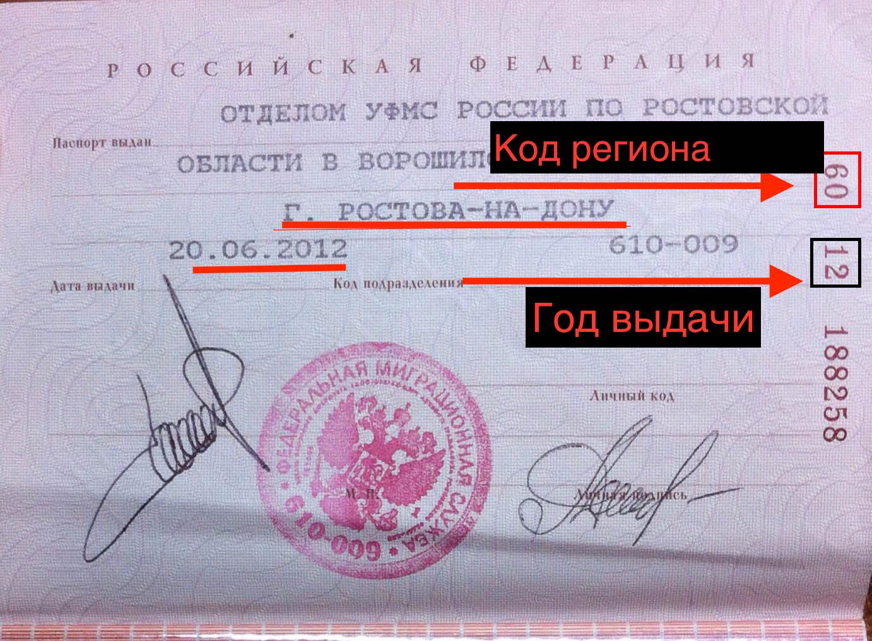 Серия и номер паспорта: где смотреть сколько цифр в загранпаспорте