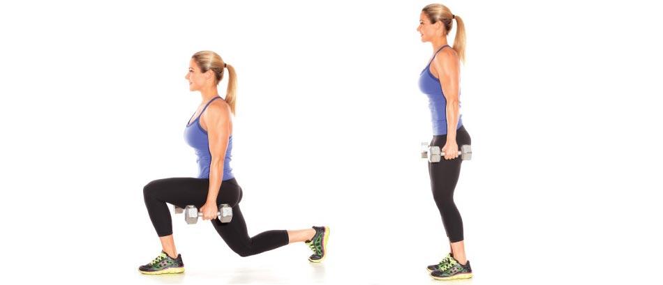 Выпады реверанс (диагональные): различные варианты упражнения перекрестных выпадов и их польза