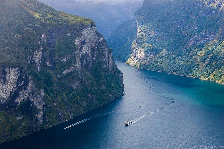 Нерёй-фьорд и аурландс-фьорд, норвегия. фото, на карте, отзывы, как добраться — туристер.ру