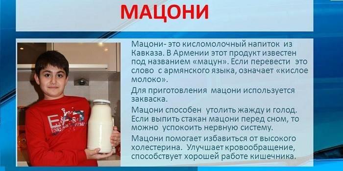 Мацони — приготовление кисломолочного напитка, описание пользы и вреда на ydoo.info