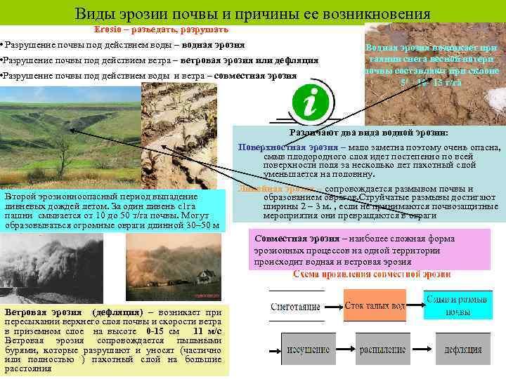 Эрозия почвы: виды, факторы, последствия и предотвращение — природа мира