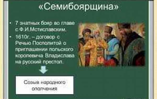 Семибоярщина - правление бояр