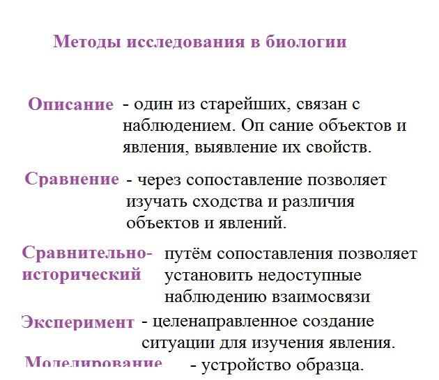 Методы научного исследования: классификация, характеристика