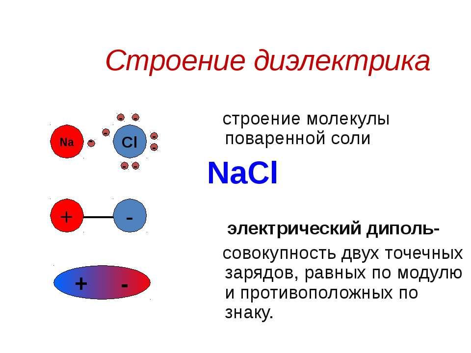Свойства диэлектриков, принцип работы
