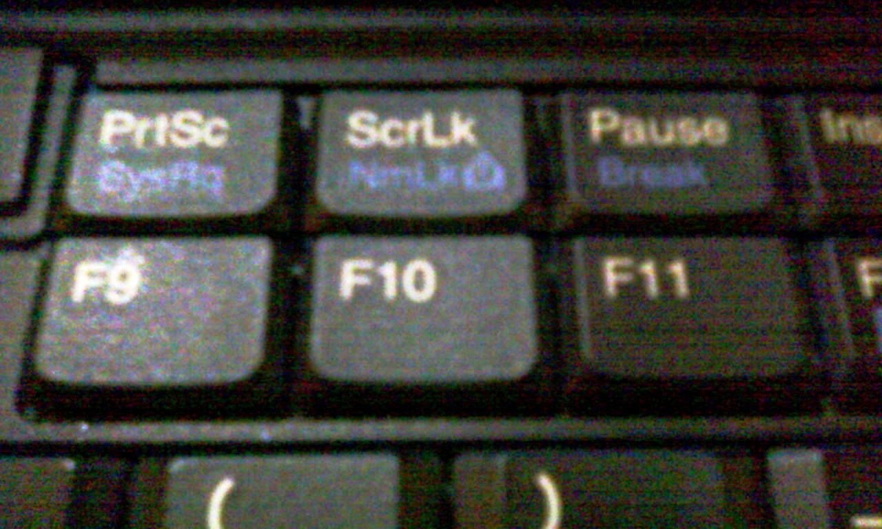 """Предназначение клавиши """"scroll lock"""""""
