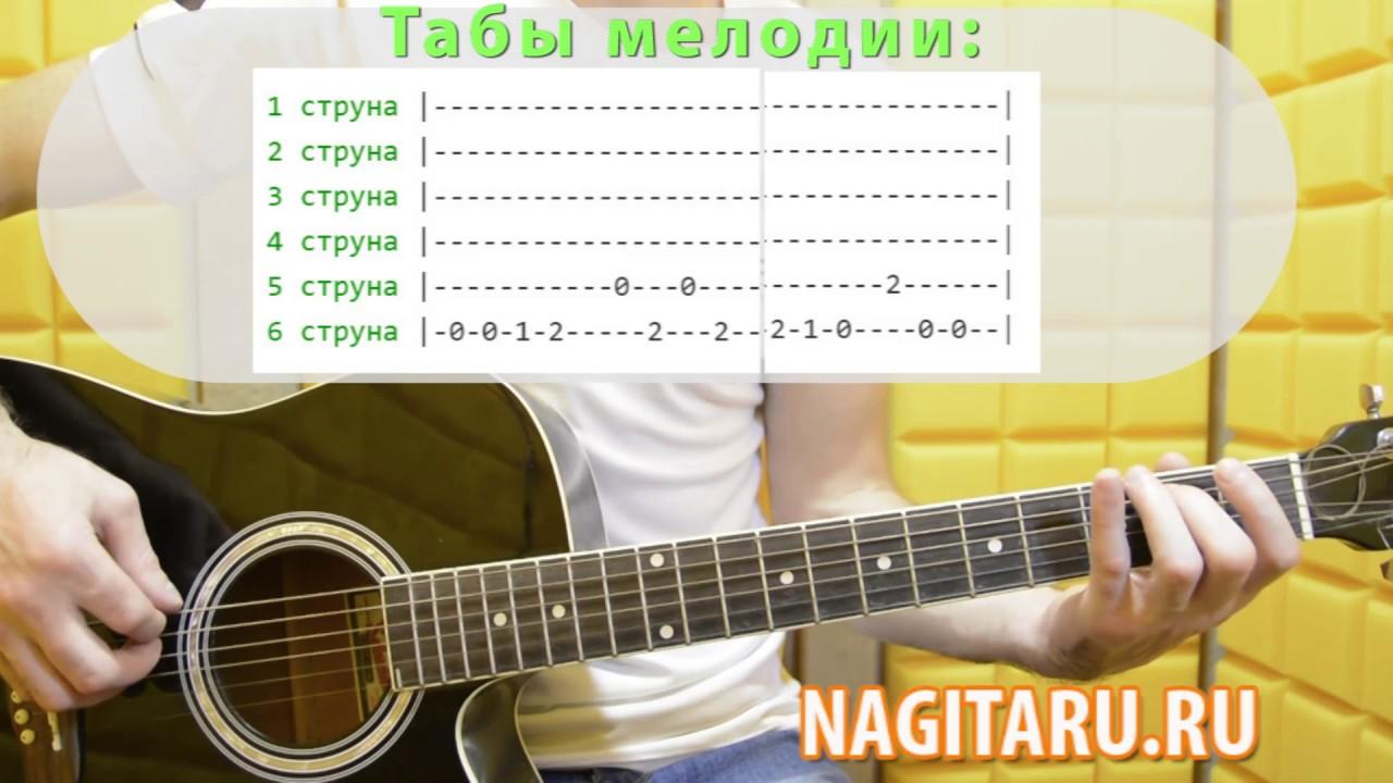Как читать табы для гитары, табулатура для начинающих