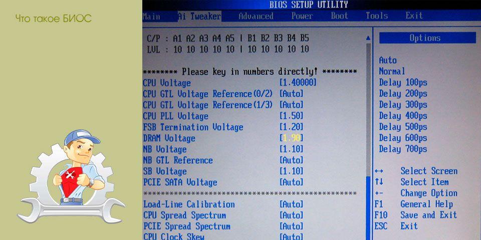 Для чего нужен bios, как попасть в bios моего компьютера.