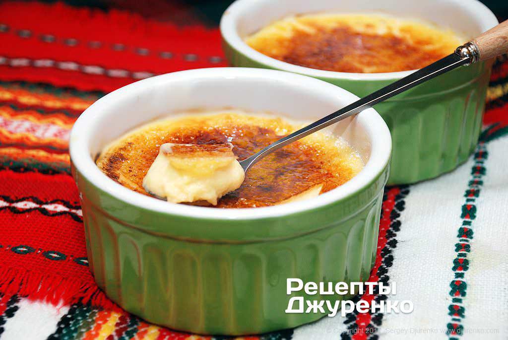 Крем-брюле, 48 рецептов, фото-рецепты / готовим.ру