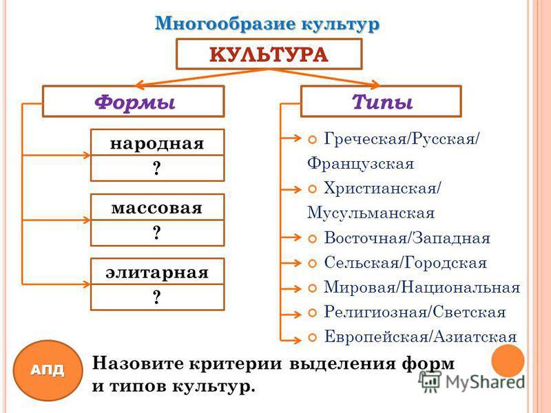 Тема 2 виды, формы, содержание и функции культуры. лекции по культурологии