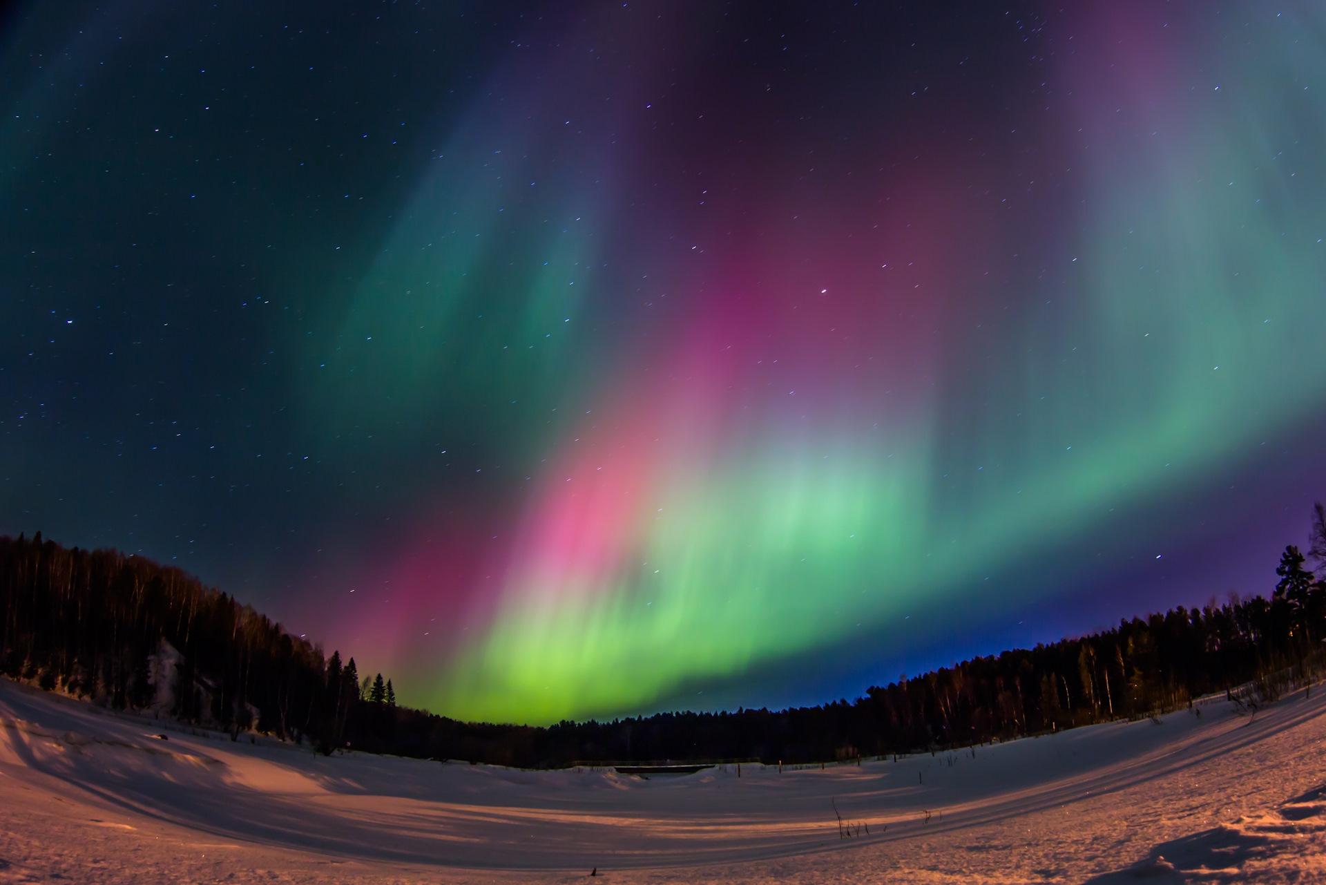 Полярное сияние — википедия. что такое полярное сияние
