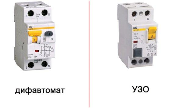 Виды дифавтоматов – в чем отличие между ними, и какие встречаются