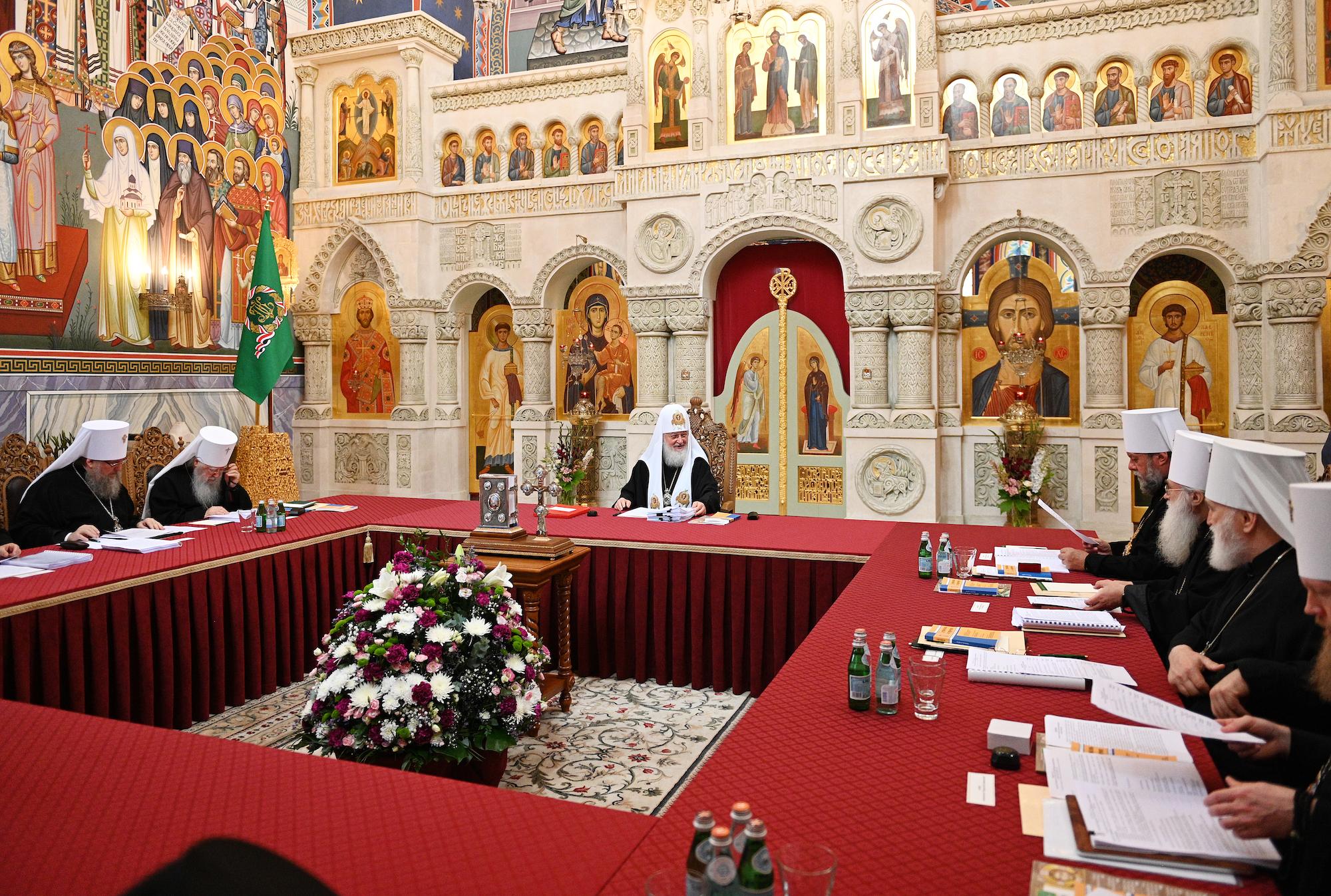 Синод — это священный синод русской православной церкви