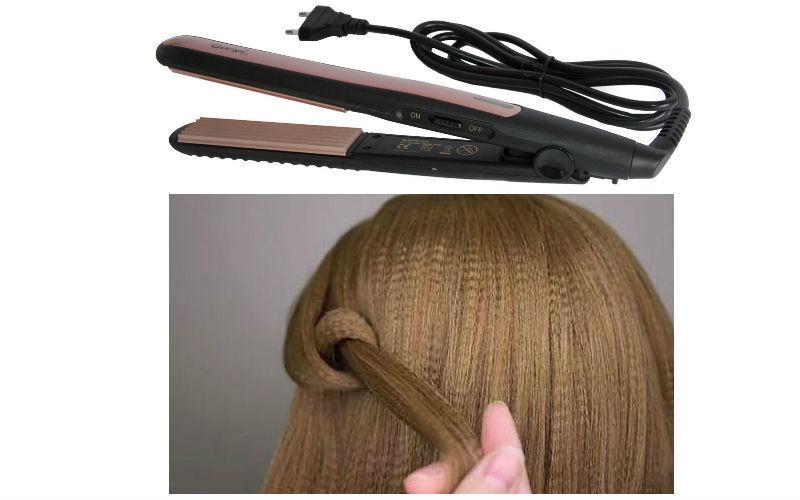 Причёски на средние волосы с гофре, фото и описание укладок