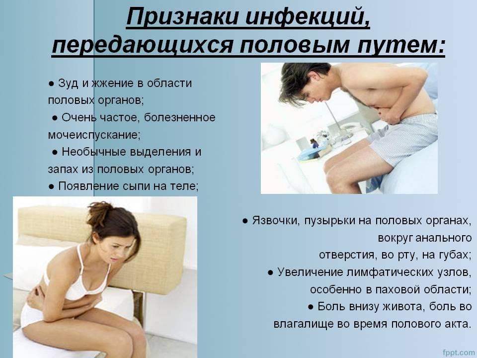 Инфекции и заболевания, передающиеся половым путем - виды и симптомы |             эко-блог