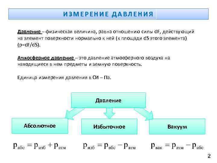 Измерение физических величин. 7-й класс