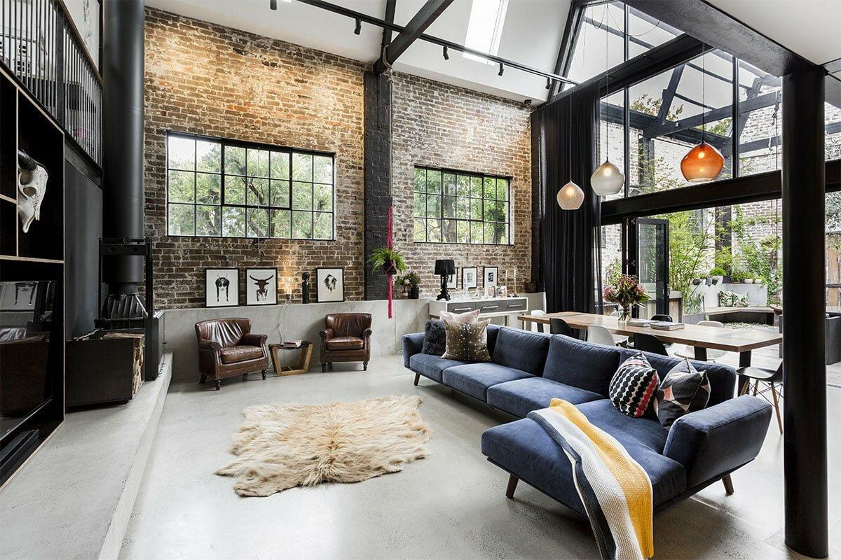 Стиль лофт: полный гид по интерьерам, что это такое и как он выглядит, квартиры и комнаты, история популярности, как сделать дизайн кухни, гостиной или ванной