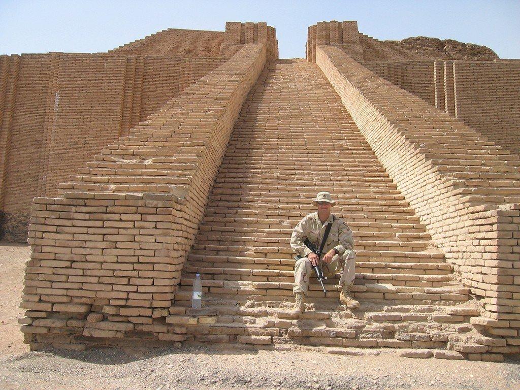 Месопотамский зиккурат в городе уре – дорога в небо
