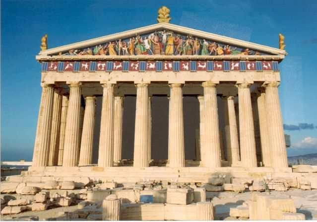 Храм парфенон в афинах: история, описание, фото