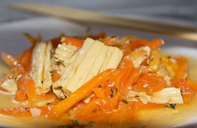 Соевая спаржа по-корейски: польза и вред, калорийность