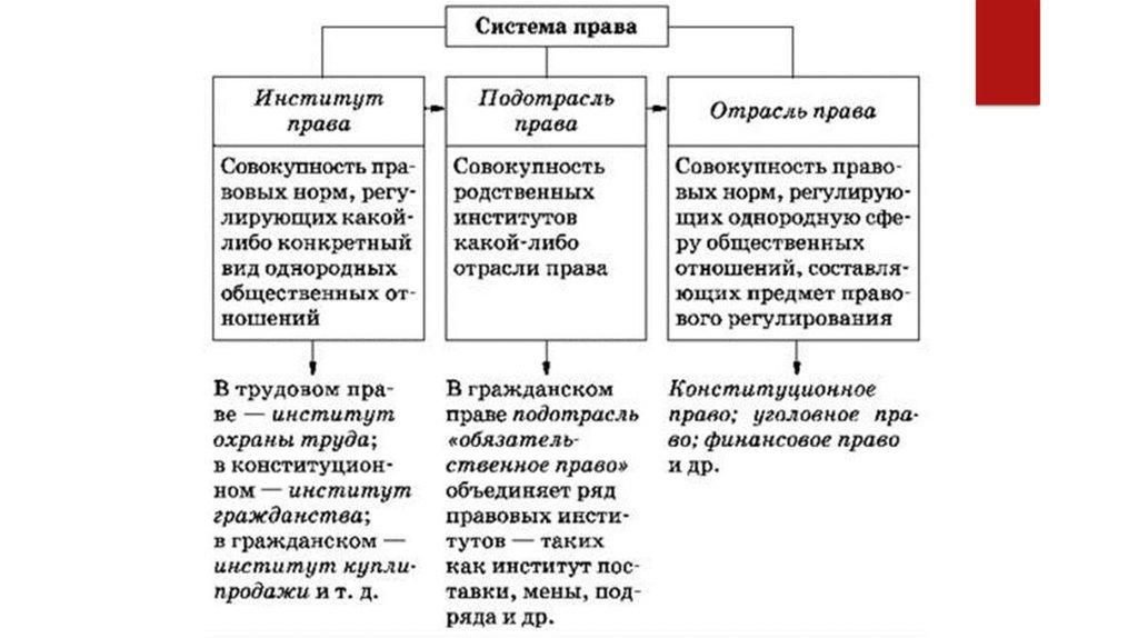 Частное и публичное право: кратко, деление, отличия