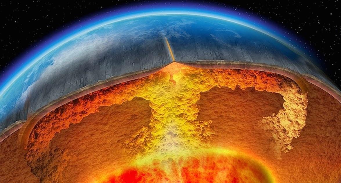 Тектонические плиты земли – движение крупнейших пластов