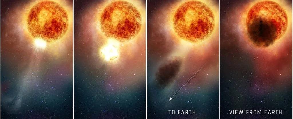Ближайшая к земле сверхновая вот-вот взорвется. чем это грозит для землян?
