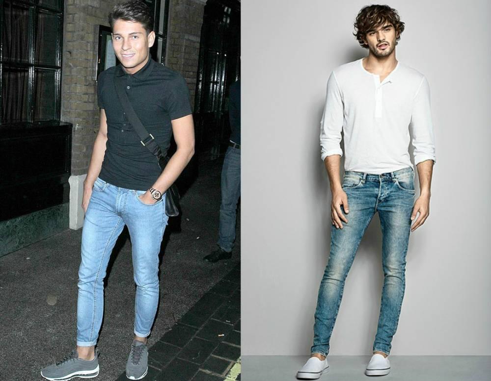 Как сделать подвороты на джинсах парню для стильного образа