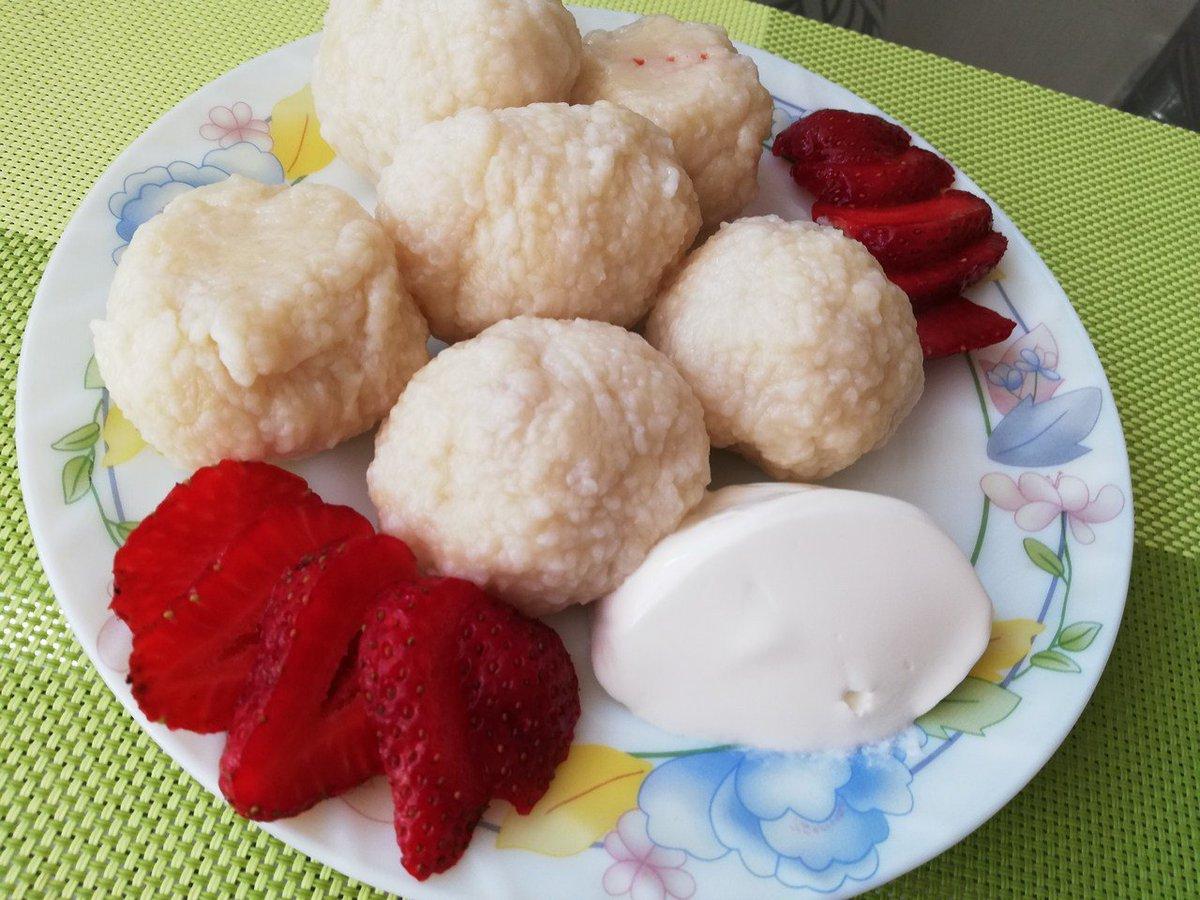 Кнедлики-рогалики – кулинарный рецепт