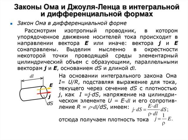 Схема участка электрической цепи