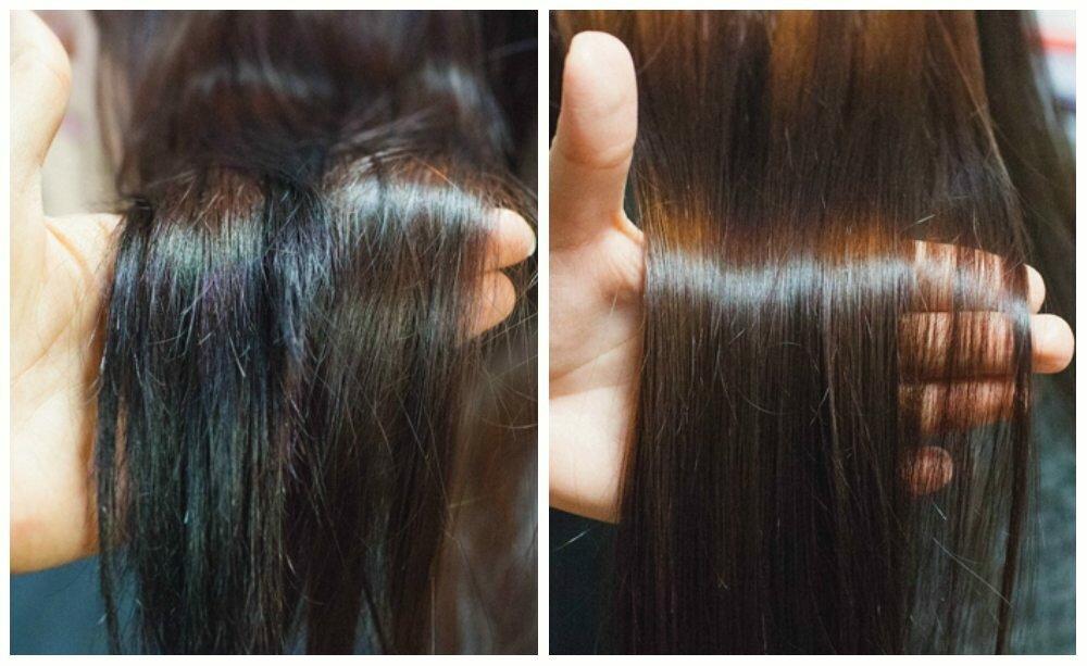 Полировка волос: техника выполнения, описание процедуры, как и сколько по времени делается