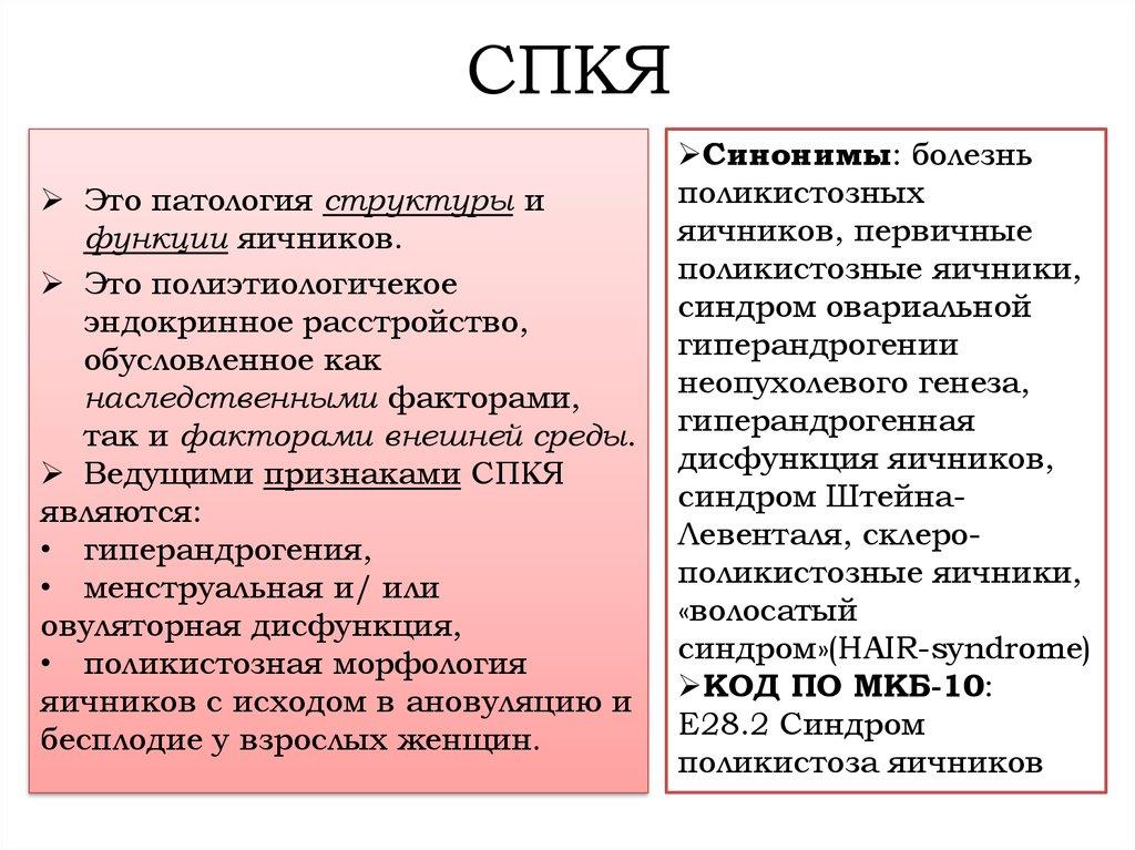 Спкя. причины, симптомы, диагностика и методы лечения