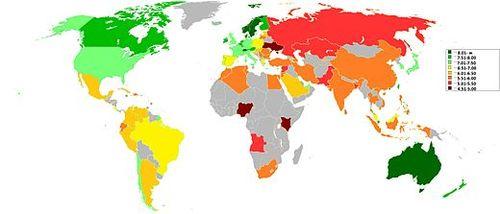 Уровень жизни в россии и её качество: оценка по регионам и городам, по слоям населения (рабочие, пенсионеры, мигранты и другие), место в мире