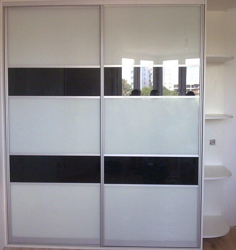 Двери в шкаф-купе лакобель – что это за материал и как за ним ухаживать?