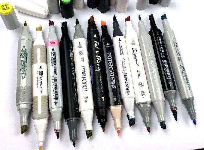Что такое маркеры и их виды. для чего нужны маркеры и paint marker | новости горного алтая | новости республики алтай