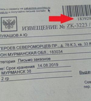 Московский асц: что это пришло, заказное письмо 20 гр, телефон