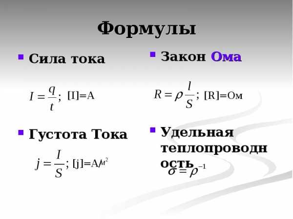 Последовательное и параллельное соединение проводников