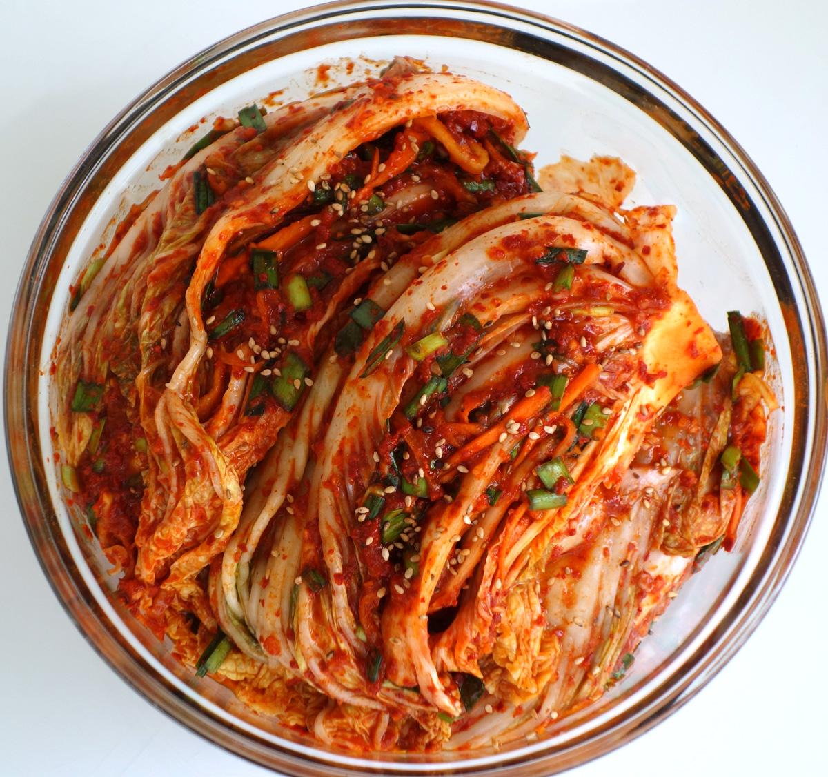 Приправа кимчи: в меру острая и ароматная корейская закуска
