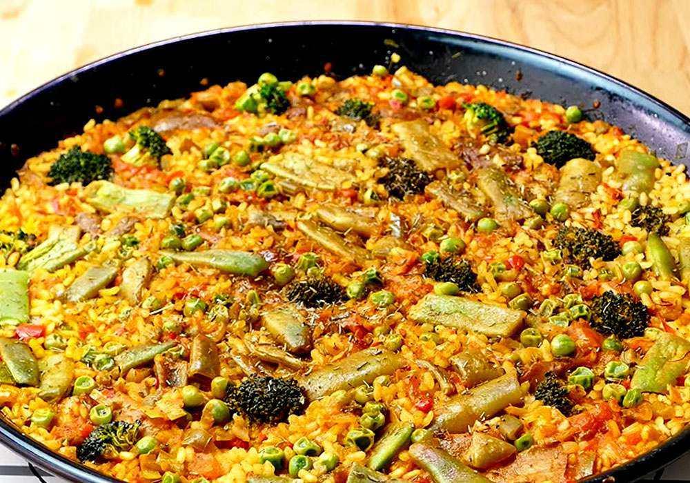 Крестьянская паэлья – кулинарный рецепт