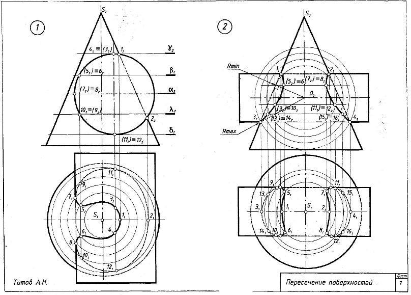 Эпюры внутренних усилий в балках - лекции и примеры решения задач технической механики