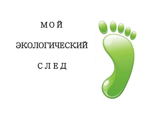 Экологический след - ecological footprint