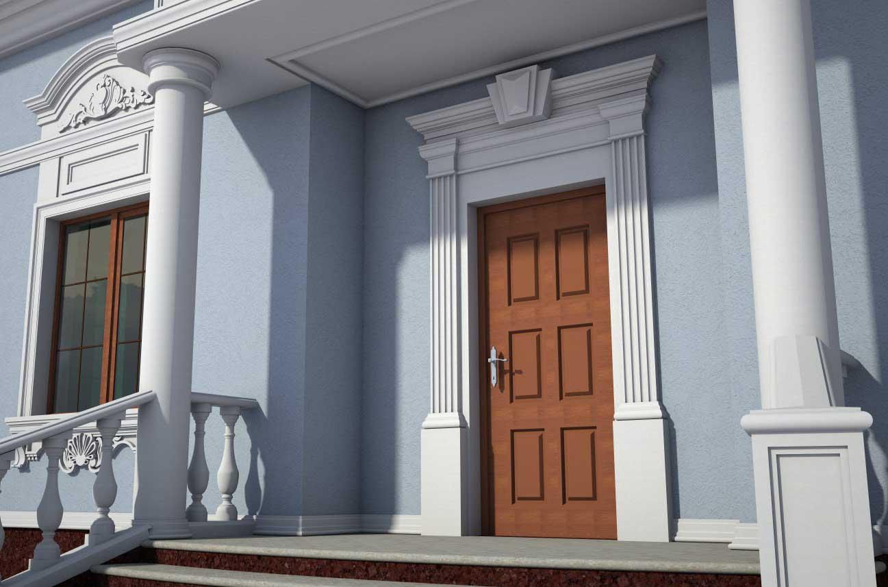 Пилястра: что это такое, назначение и применение в архитектуре