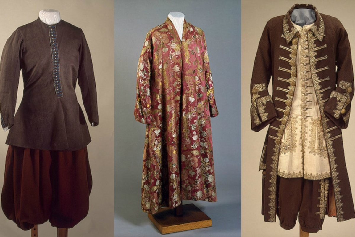Камзол - это элемент мужского костюма времен петра i