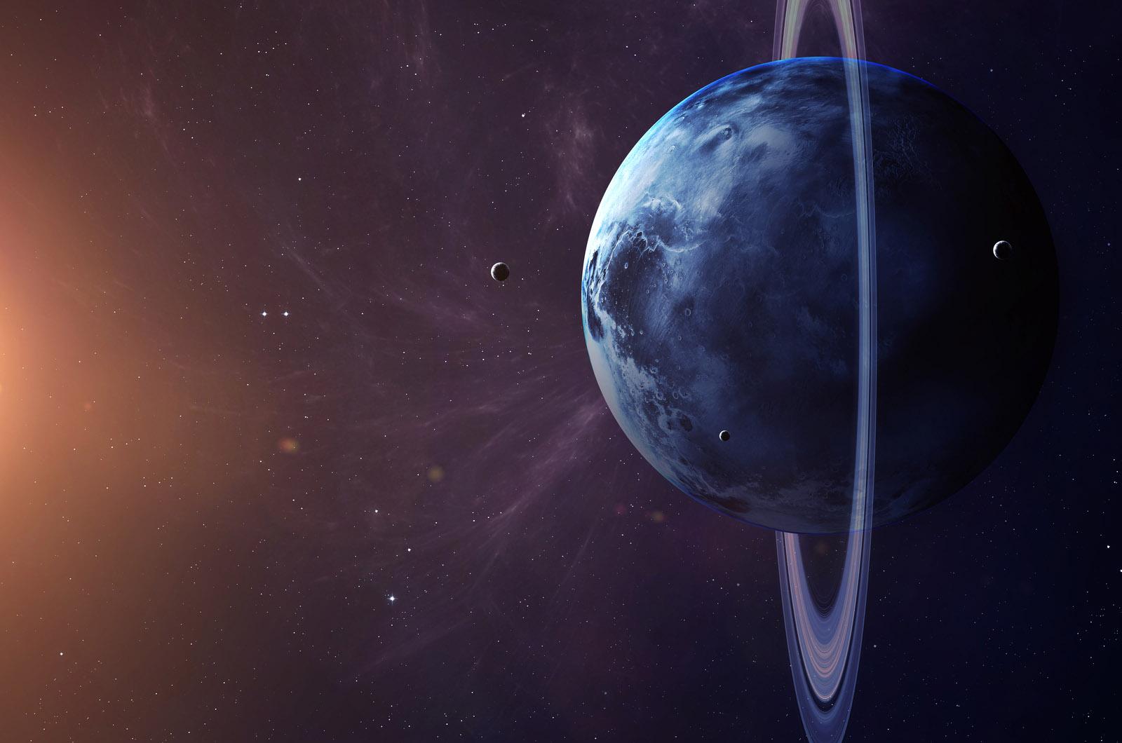 Уран — планета вращающаяся на боку